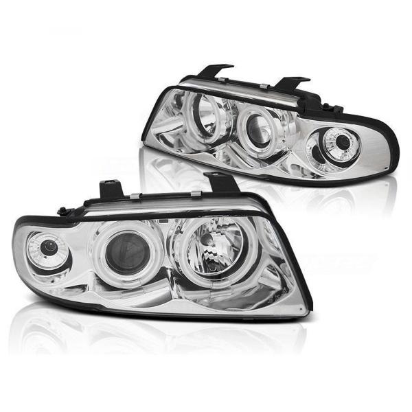 Audi-A4-B5-LimAvant-96-00-Faróis-Angel-Eyes-CCFL-Cromados-3
