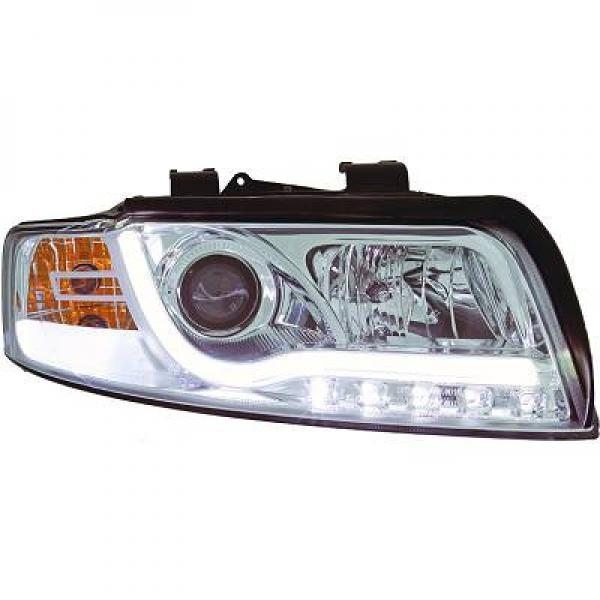 Audi-A4-B6-LimAvant-00-04-Faróis-Tubeline-TFL-Cromados