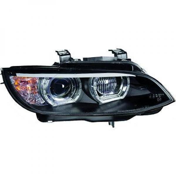 BMW-Serie-3-E92-Coupé-06-10-Faróis-Angel-Eyes-TFL-Pretos