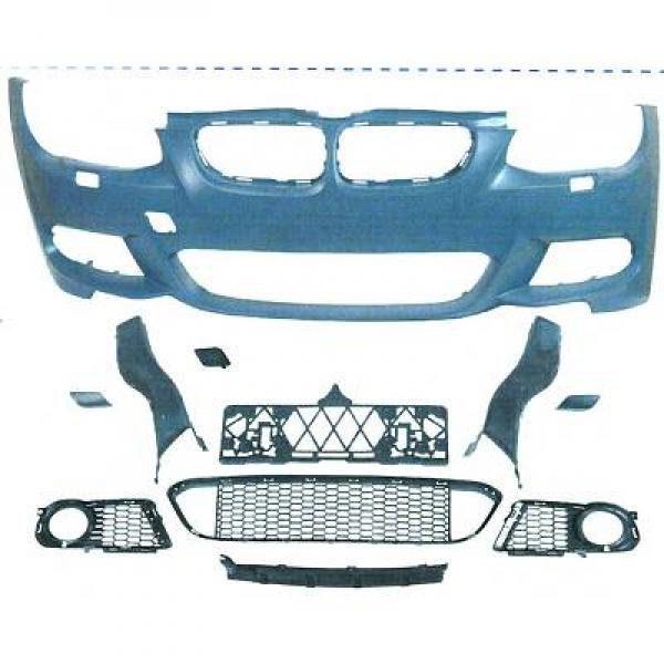 BMW-Serie-3-E93-LCI-Cabrio-10-14-Pára-choques-Frente-Pack-M