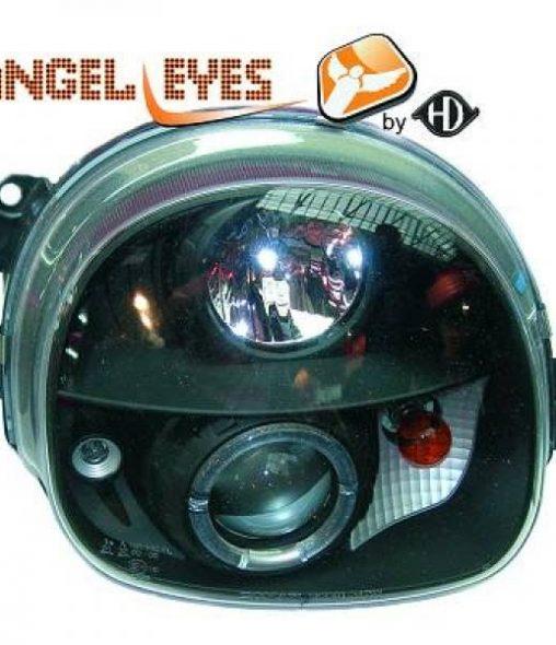 Renault-Twingo-Faróis-Angel-Eyes-Pretos