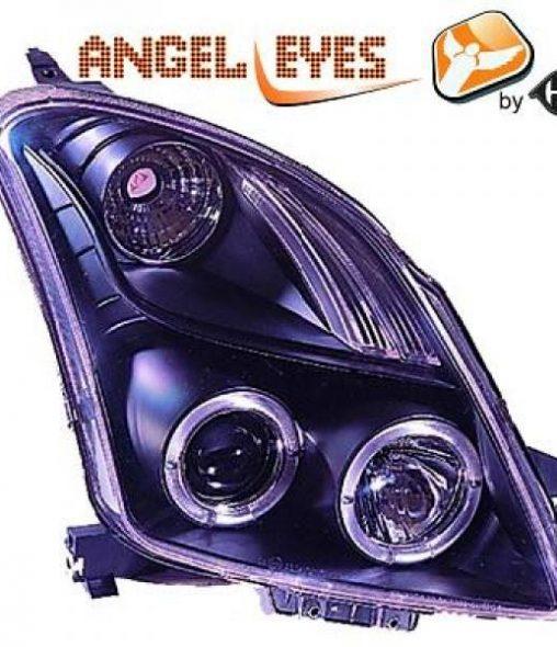 Suzuki-Swift-05-10-–-Faróis-Angel-Eyes-Preto