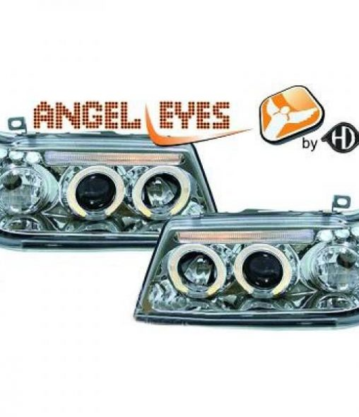 Peugeot-205-83-96-Faróis-Angel-Eyes-Cromados