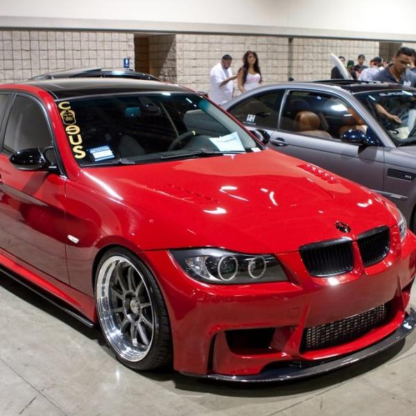 BMW-E90-1M-Vermelho