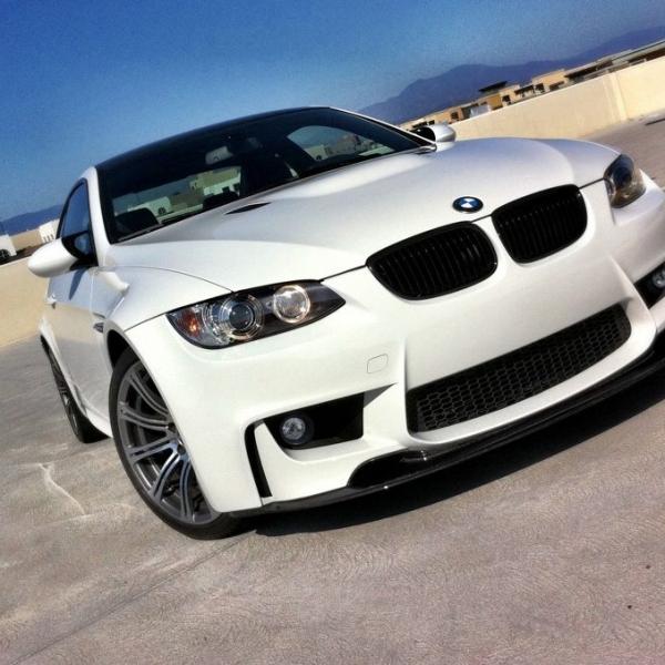 BMW-Serie-3-E92-Coupé-06-10-Para-choques-Frente-Look-M1
