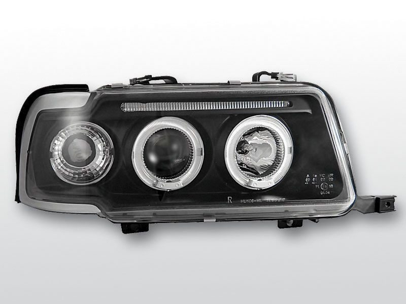 Audi-80-91-94-Faróis-Angel-Eyes-Fundo-Preto-1