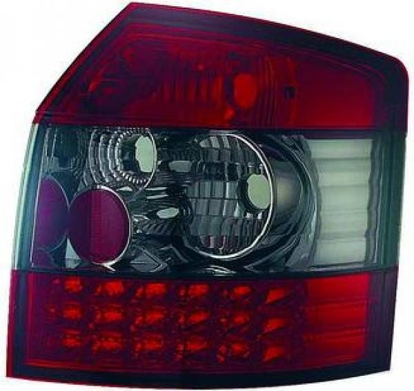 Audi-A4-B6-00-04-Farolins-Cristal-Escurecidos-em-LED