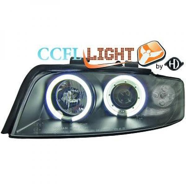 Audi-A4-B6-LimAvant-00-04-Faróis-Angel-Eyes-CCFL-Pretos
