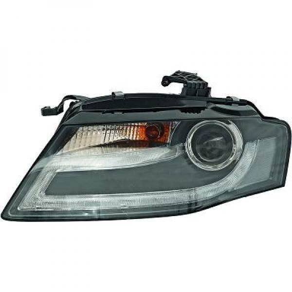 Audi-A4-B8-LimAvant-07-11-Faróis-tipo-Origem-Preto