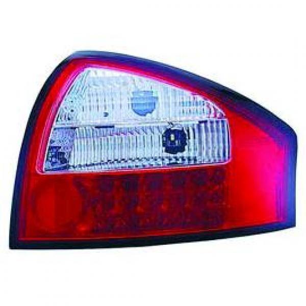 Audi-A6-97-04-Farolins-Cristal-em-LED