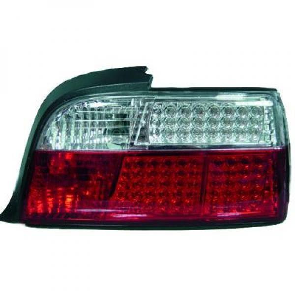 BMW-Serie-3-E36-90-99-Farolins-Cristal-em-LED-4-Portas