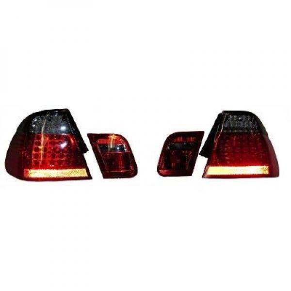 BMW-Serie-3-E46-01-05-Farolins-Cristal-Escurecidos-em-LED