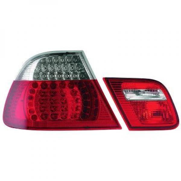 BMW-Serie-3-E46-Coupé-03-07-Farolins-Cristal-em-LED
