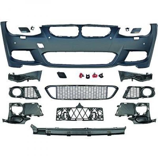 BMW-Serie-3-E93-LCI-Cabrio-10-14-Pára-choques-Frente-Pack-M-1