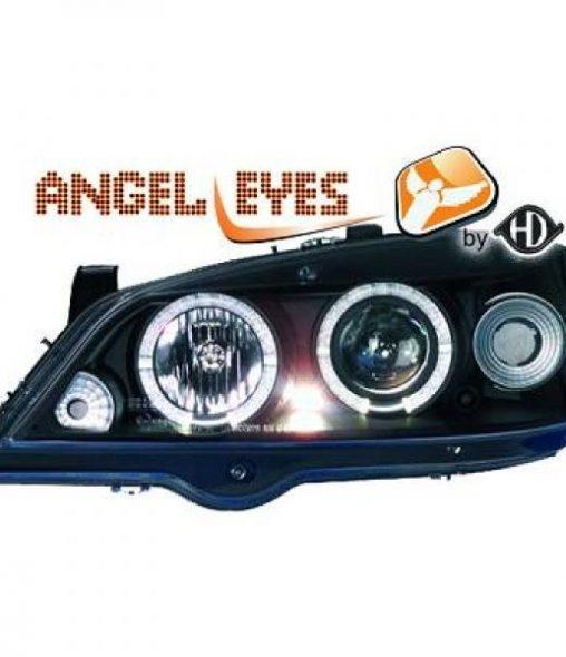 Opel-Astra-G-Cabrio-00-05-Faróis-Angel-Eyes-Fundo-Preto