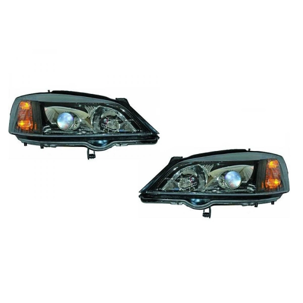 Opel-Astra-G-Coupé-00-05-Faróis-tipo-Xénon-Preto