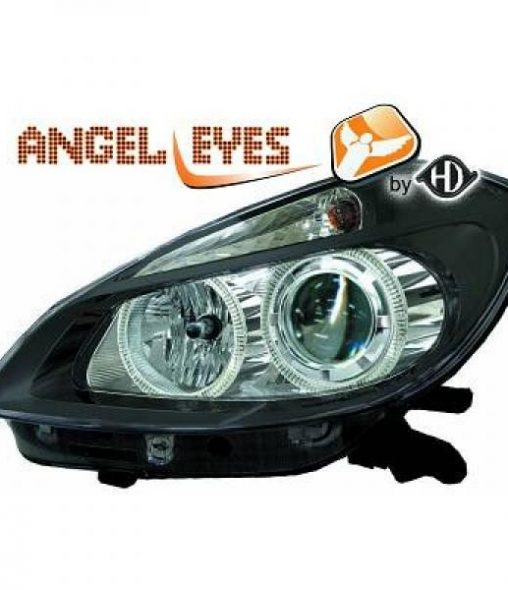 Renault-Clio-05-09-Faróis-Angel-Eyes-Pretos-v.2