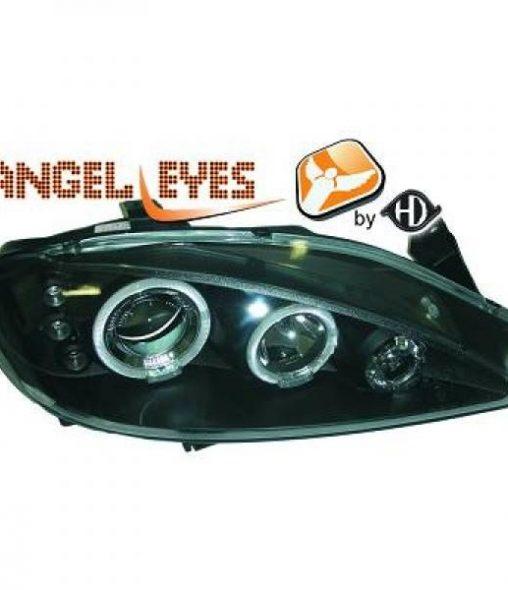 Renault-Mégane-99-02-Faróis-Angel-Eyes-Pretos