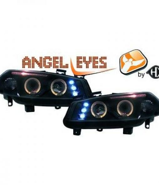 Renault-Mégane-II-02-05-Faróis-Angel-Eyes-Pretos