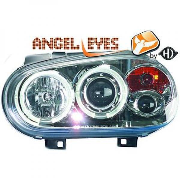 Volkswagen-Golf-IV-97-03-Faróis-Angel-Eyes-Cromados