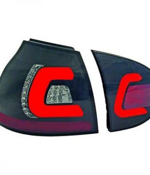 Volkswagen-Golf-V-03-08-Farolins-Light-Bar-Design-Escurecidos