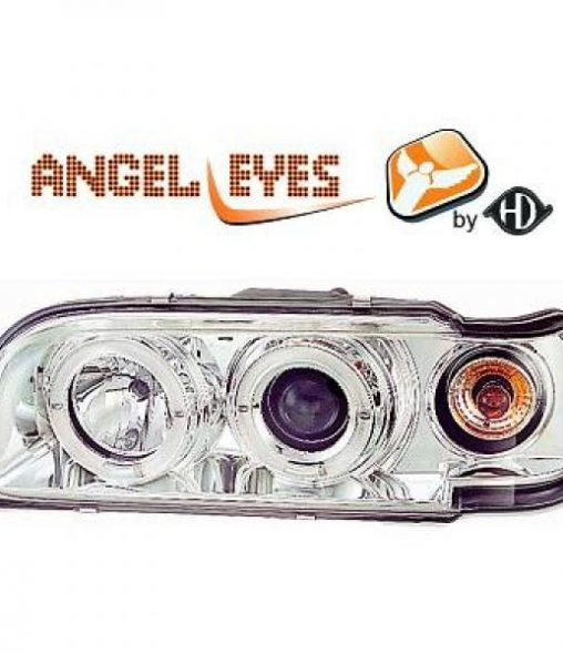 Volvo-850-91-96-Faróis-Angel-Eyes-Cromado