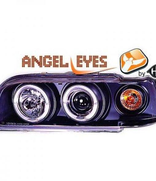 Volvo-850-91-96-Faróis-Angel-Eyes-Preto
