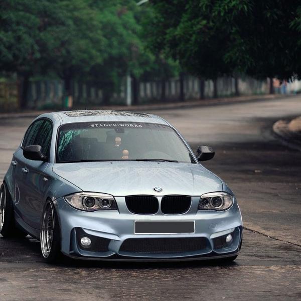 BMW-Serie-1-E87-04-11-Para-choques-Frente-Look-M4-1