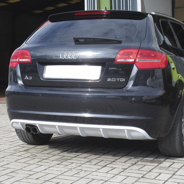 Audi-A3-8P-08-12-Difusor-Spoiler-trás-RS3