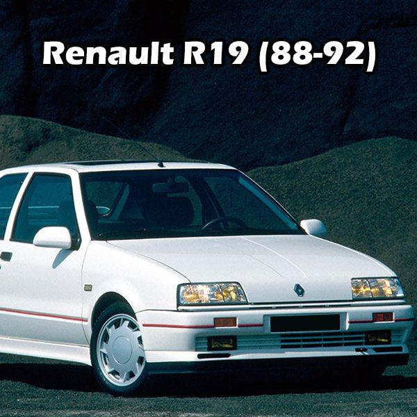 Renault R19 (88-92)