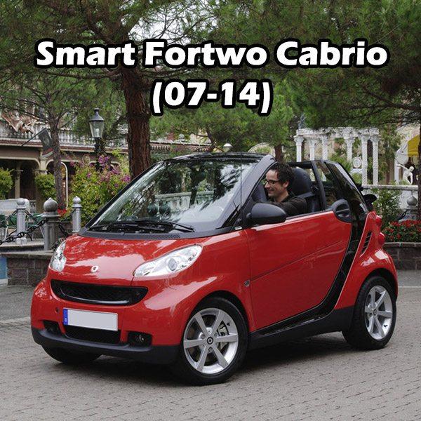 Smart Fortwo Cabrio (07-14)