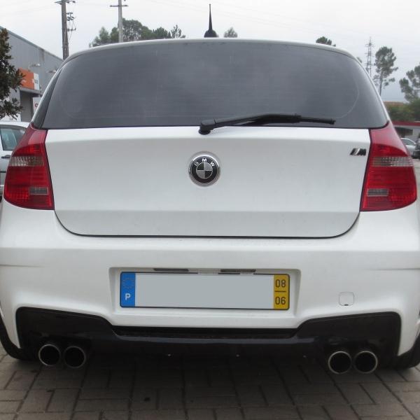 BMW-Serie-1-E81-04-11-Para-choques-Trás-M1